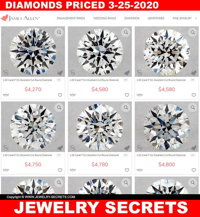 Great Time To Buy Diamonds Are Cheaper Due To The Coronavirus