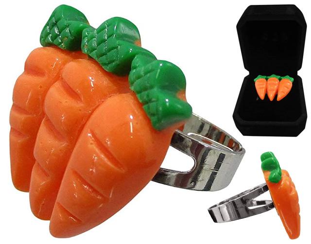 3 Carrot Ring