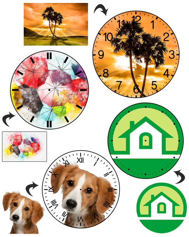 Custom Photo Watch Examples