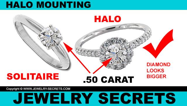 Halo Diamond Mountings Better Value