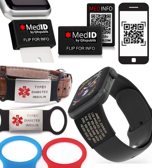 Apple Watch Band Medical Alert Medic Bands