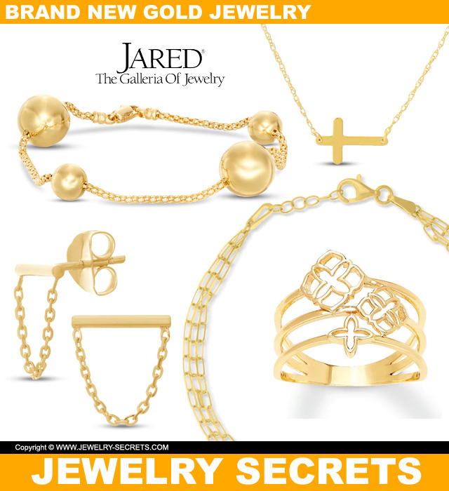 Brand New Gold Jewelry From Jareds