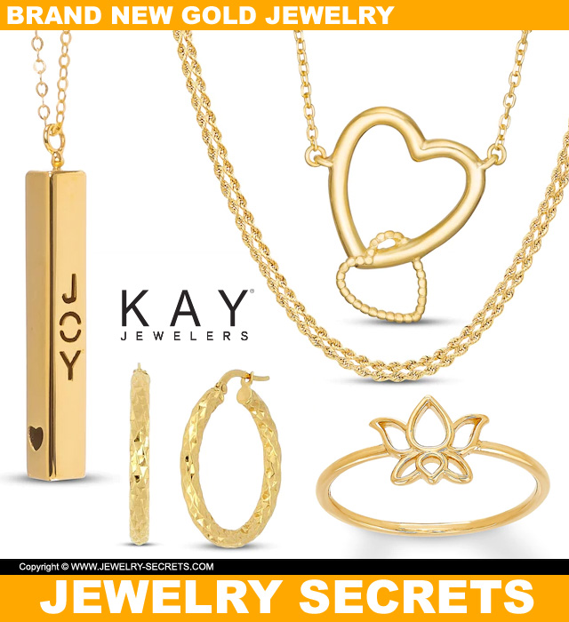 Brand New Gold Jewelry From Kays