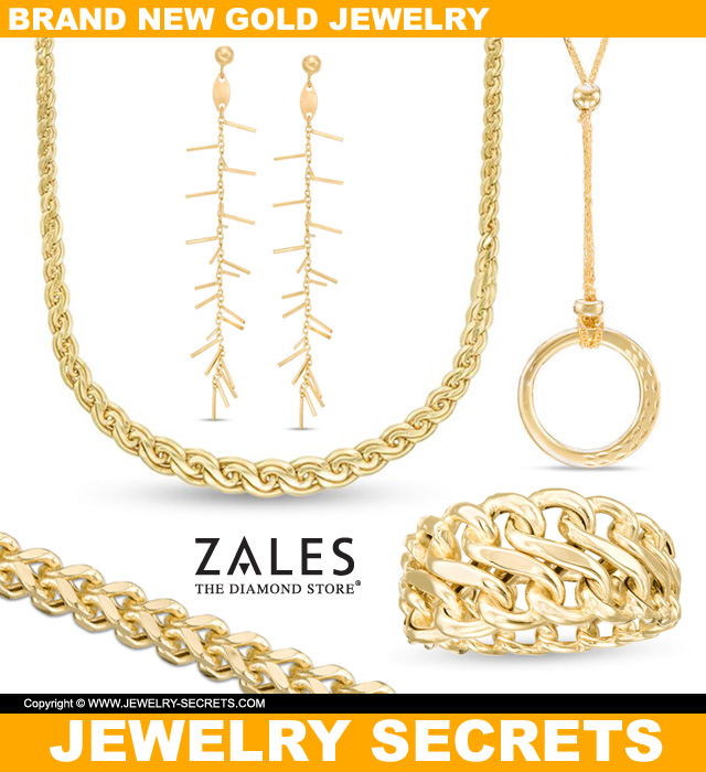 Brand New Gold Jewelry From Zales