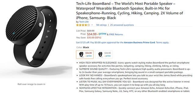 Boomband On Amazon
