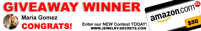 Jewelry Giveaway 33 Winner