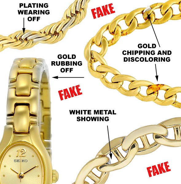 Examples Of Fake Gold