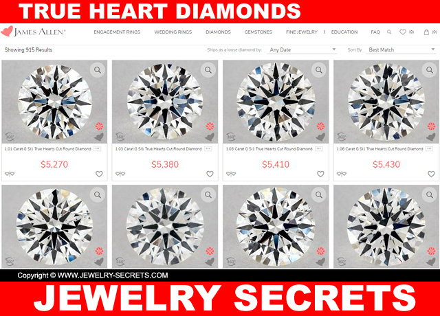 Perfectly Cut Round Diamonds