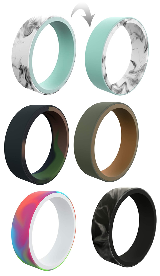 Reversible Silicone Rings