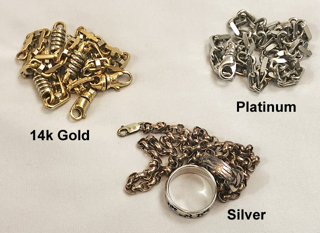 Separate Your Jewelry Into Metal Types