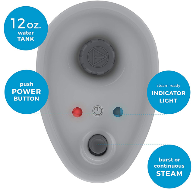 Steamfast Jewelry Steam Cleaner Buttons
