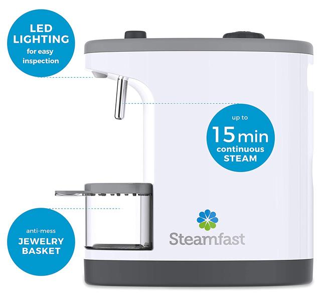 Steamfast Jewelry Steamer 15 Minutes