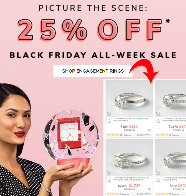 Wait For A Diamond Ring Sale