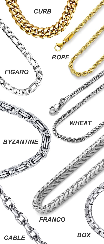 Hip-Hop Mens Chunky Chains