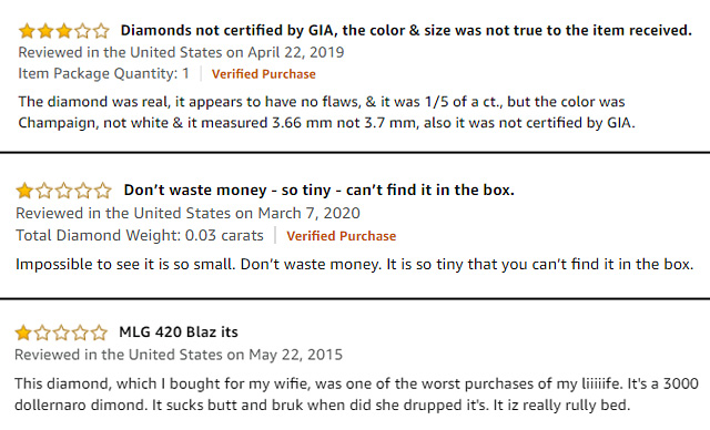 Read The Amazon Reviews