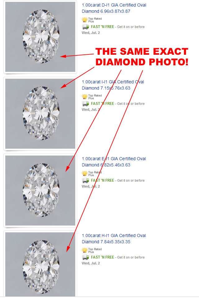 Stock Photo Diamond Sample Images
