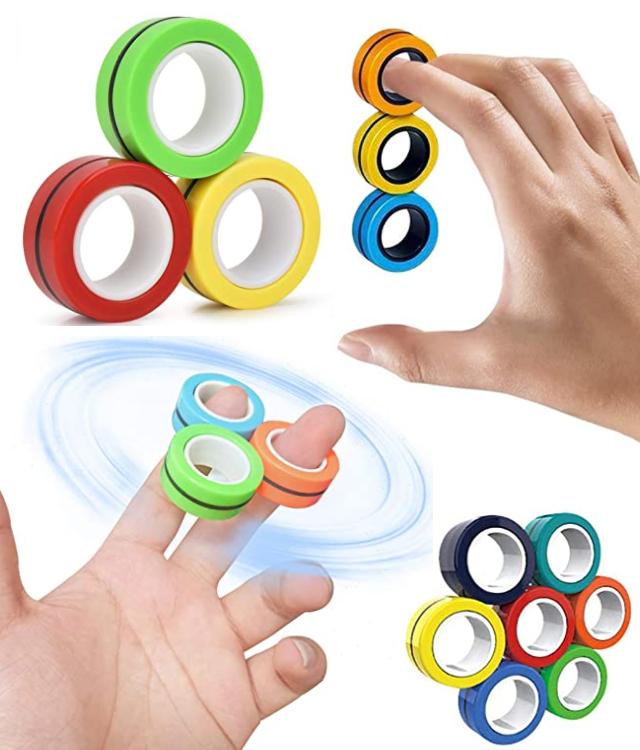 Brand New Magnetic Fidget Rings