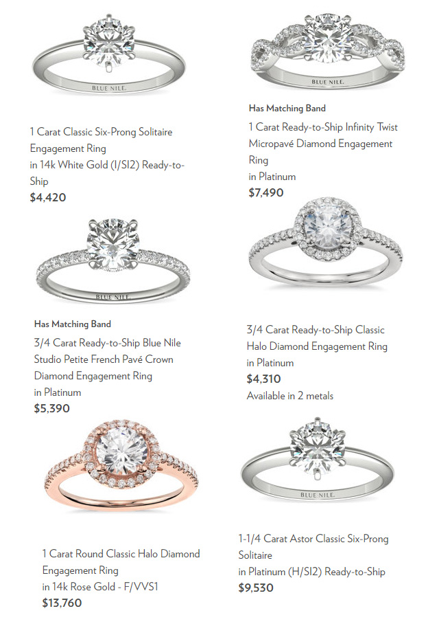 Fast Engagement Rings At Blue Nile