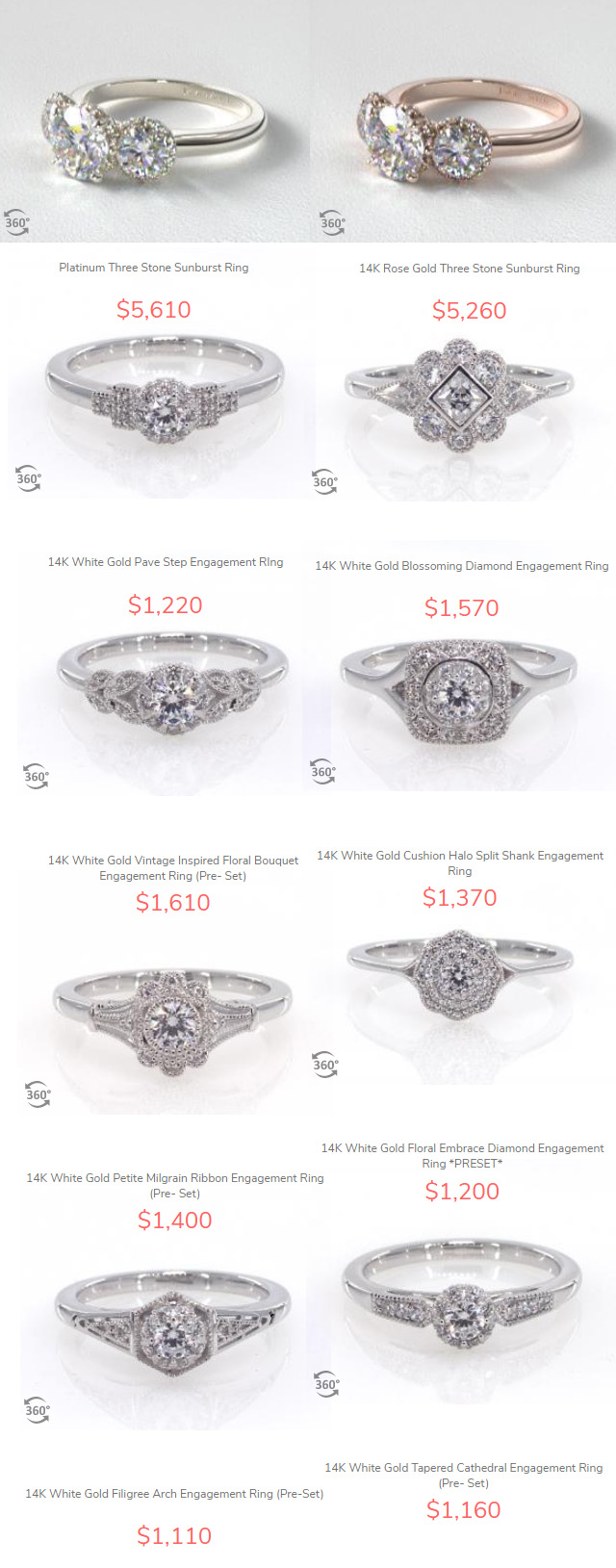 Fast Engagement Rings At James Allen