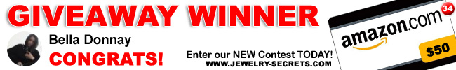 Jewelry Giveaway 34 Winner