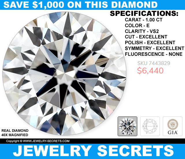Save 1000 Dollars On This Diamond