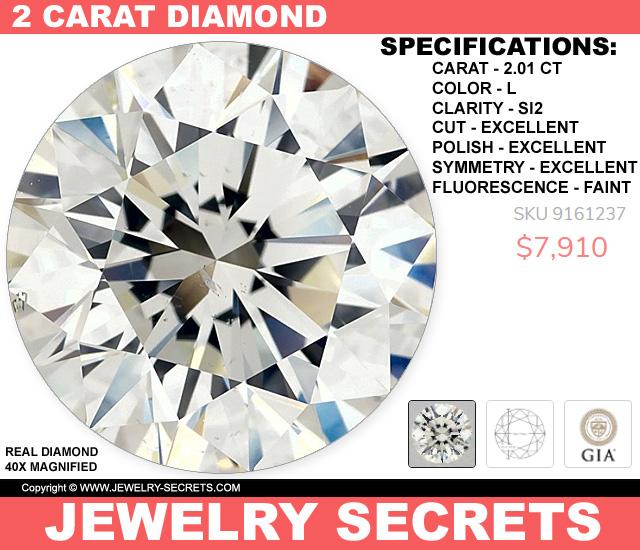 THIS 2 CARAT DIAMOND IS UNDER 8 GRAND