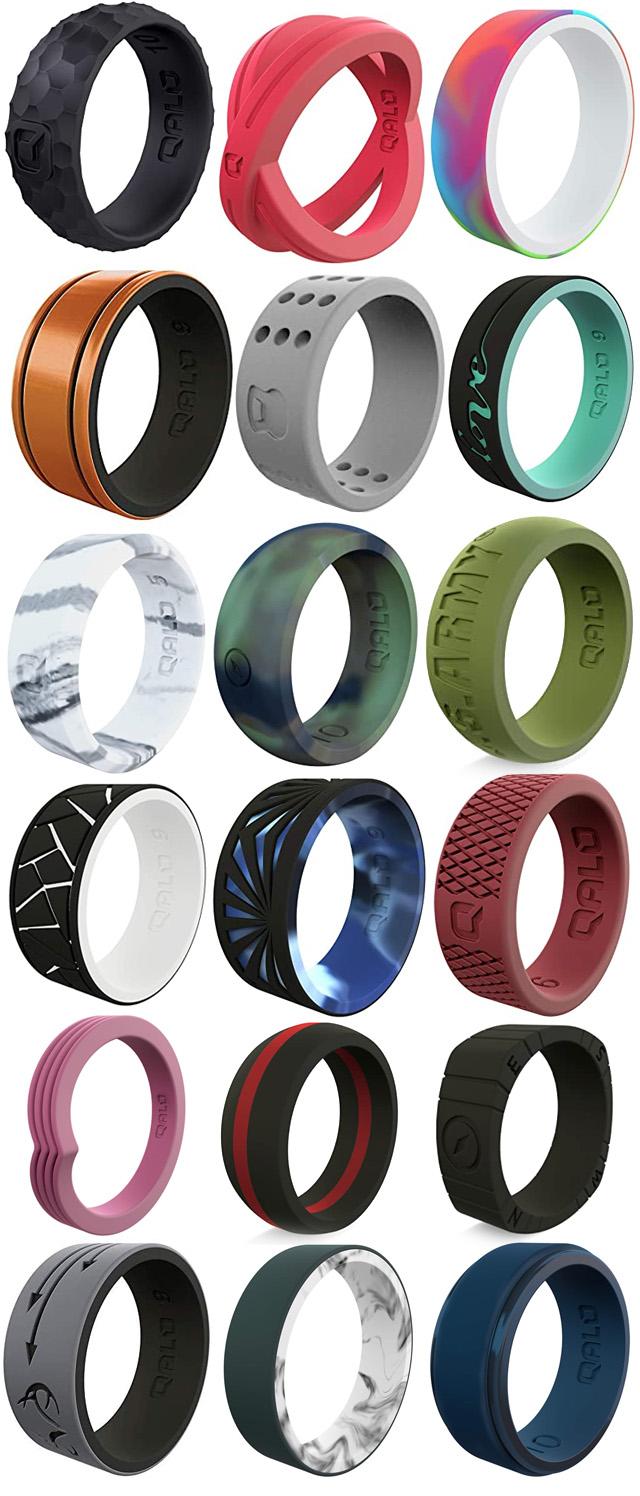 Qalo Silicone Rings