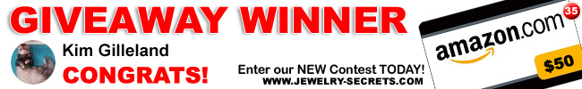 Jewelry Giveaway 35 Winner