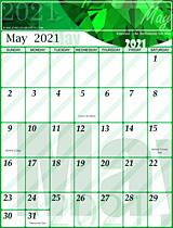Free May 2021 Calendar
