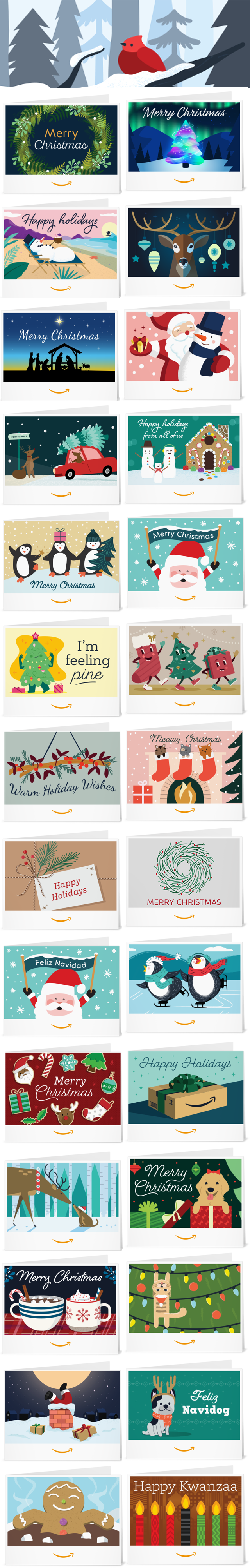 PRINT YOUR OWN AMAZON CHRISTMAS GIFT CARD FROM HOME