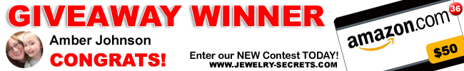 Jewelry Giveaway 36 Winner
