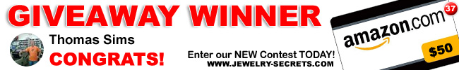 Jewelry Giveaway 37 Winner