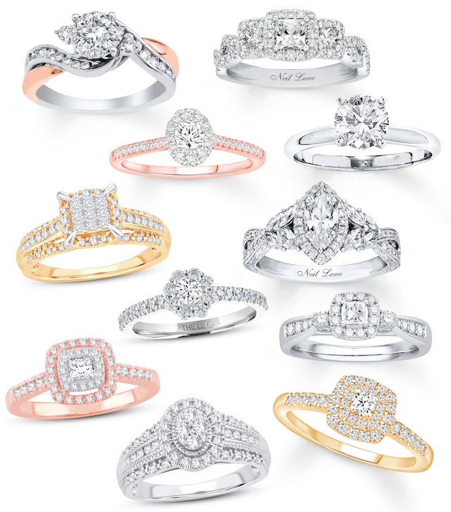 Kay Jewelers Bridal Ring Engagement Wedding Sale
