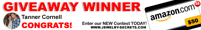 Jewelry Giveaway 38 Winner