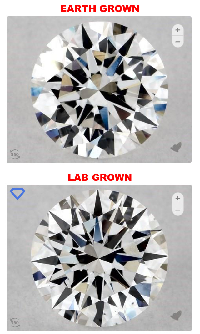 Lab Grown Diamonds are Identical to Natural Diamonds